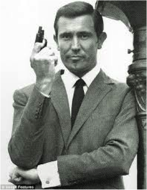 George Lazenby as the 3rd James Bond
