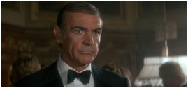 Sean Connery returns as Bond for the 7th time in Never Say Never Again.
