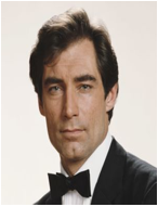 Timothy Dalton as the 6th actor to play Bond.