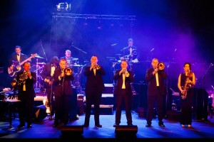 Q The Music Show's Brass section takes center stage