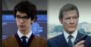 Ben Whishaw Roger Moore
