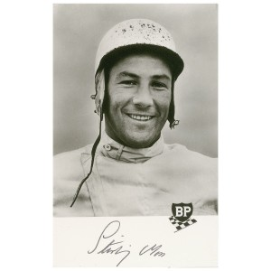 "Stirling Moss, the popular British race driver Fleming had initially intended to included in ""Murder on Wheels"""