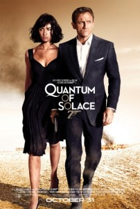 Poster art of Quantum of Solace