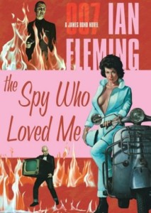 alternate cover for The Spy Who Loved Me, Penguin Edition
