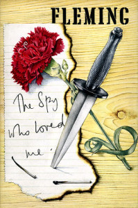Richard Chopping's dust jacket for The Spy Who Loved Me