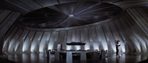 The last magnificent boardroom that Ken Adam had designed for a Bond film