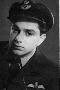 Young Ken Adam as an RAF pilot