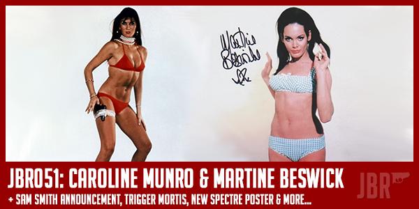 Bond Girls Caroline Munro Martine Beswick Interview