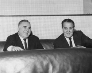 Harry Saltzman and Cubby Broccoli