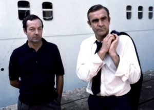 Guy Hamilton and Sean Connery