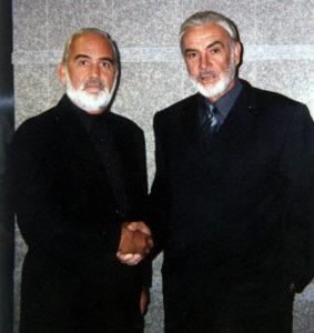 John Allen and Sean Connery
