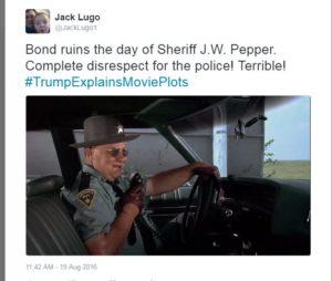 Live and Let Die Trump