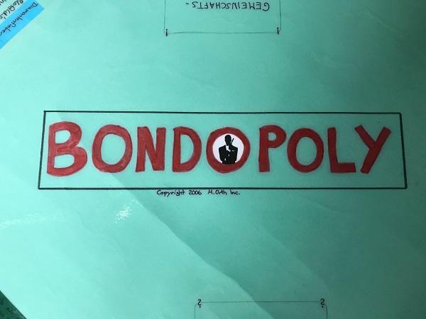 D Exhibition Jbr : A jbr listener s homemade bond monopoly board game james bond radio